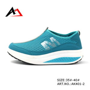Health Shoes Casual Walking Slimming Footwear for Women (AK400) pictures & photos