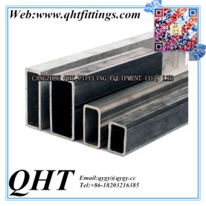 Hot Dipped Galvanized or Pregalvanized Gi Carbon Steel Square and Rectangular