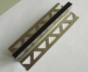 Stainless Steel Movement Joint Profile for Marble Tile pictures & photos