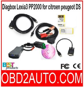 Diagbox Lexia3 PP2000 for Citroen Peugeot with Original Full Chip V7.66 Version