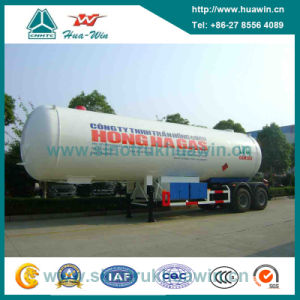Sinotruk 3 Axle 25-38cbm LPG Tanker Semi Trailer pictures & photos
