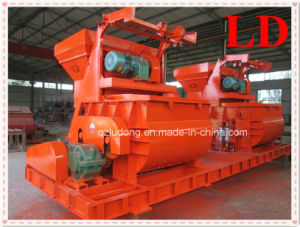 China Famous Brand Twin Shaft Concrete Mixer for Sale (JS750)