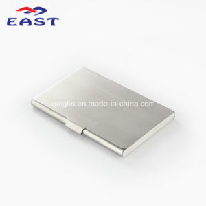 Promotional Gift Custom Metal Business Name Card Case