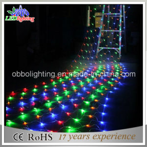 China 12m outdoor decorated multi color led net lights china 12m outdoor decorated multi color led net lights aloadofball Images