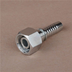 DIN 3865 Zinc Plated Metric Male Hydraulic Hose Fitting pictures & photos