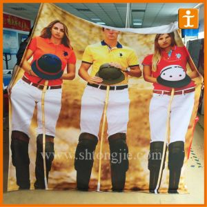 Custom Polyester Promotional Banner (TJ-FB03) pictures & photos