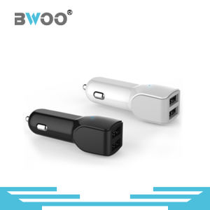 Highspeed Cahrging Dual USB Car Charger for All Mobile pictures & photos