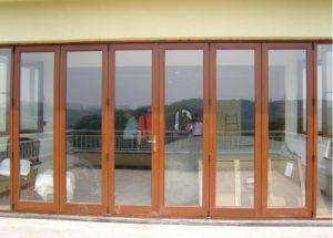 Topbright Strong Exterior Folding Door for Shopfront with Low E Glass pictures & photos