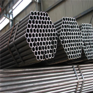 Mild Carbon High Quality Black ERW Scaffolding Welded Steel Pipe pictures & photos
