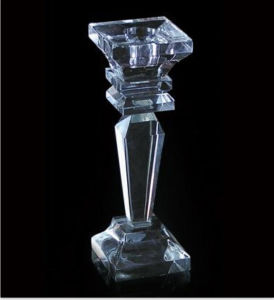 Home Decorations Beautiful Cheap Crystal Candle Holders pictures & photos