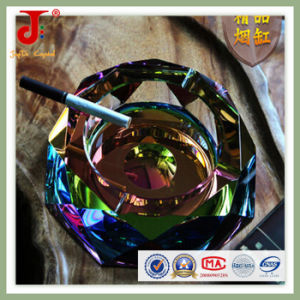 Black Crystal Glass Ashtray (JD-CA-204) pictures & photos