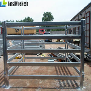 Hot Dipped Galvanized Livestock Yard Panels for Cattle