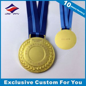 Factory Direct Sale Stick-on Ribbon Medal for Award pictures & photos