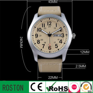 Made in China 3 ATM Water Resistant Nylon Adult Watch