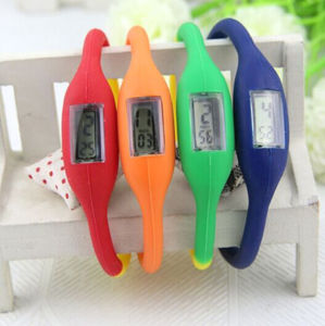 Custom Design Waterproof Wristband Silicone Watch for Kids (4008)