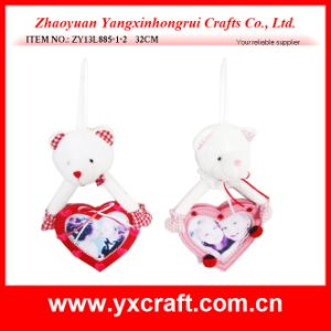 Valentine Decoration (ZY13L885-1-2) Bear Photo Frame Valentine Gift pictures & photos