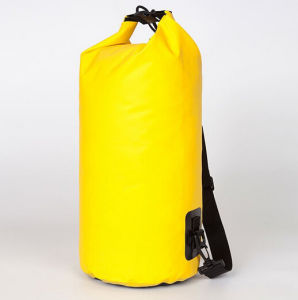 Fashionable Yellow Waterproof Dry Floating Bag for Swimming