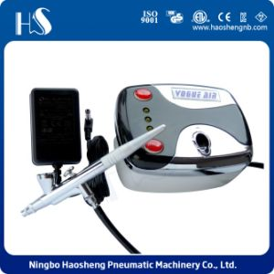 Small Pressure Adjust Makeup Airbrush Compressor pictures & photos