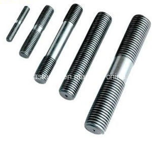 HDG Q235 Single / Double End Stud Bolt Gr4.8 - Gr12.9/High Tension Steel/Stainless/Zinc Plated