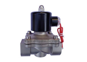 2W Series Direct Acting Diaphragm Type Stainless Steel Solenoid Valve 2W-250-25b pictures & photos