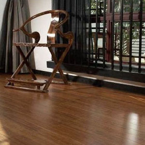 Strand Woven Bamboo Flooring Carbonzied UV Lacquer Smooth pictures & photos
