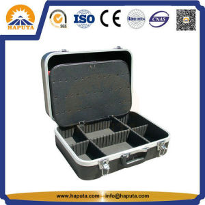 Black Portable ABS Tool Case Hard Carrying Box with EVA Partition (HT-5001) pictures & photos