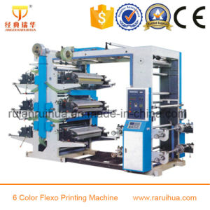 New Design 4 Color Flexo Printing Machine for Polythene Film pictures & photos