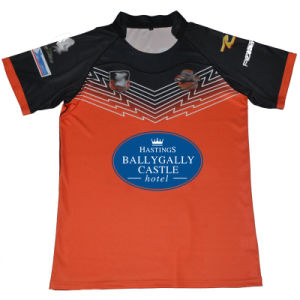 Sublimated Sublimation Rugby Jersey From Factory Supplier