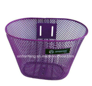 Good Quality Steel Bicycle Basket for Bike (HBK-128) pictures & photos