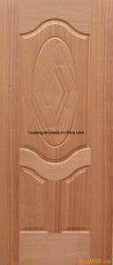 Sapeli Door Skin/Wood Veneer Door Skin/Molded Door Skin pictures & photos
