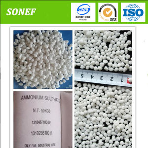Crystaline Powder Steel Grade or Caprolactam Grade Ammonium Sulphate pictures & photos