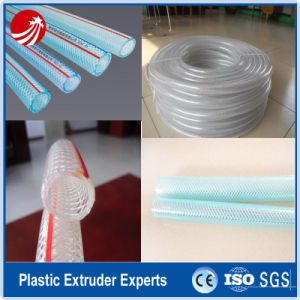 PVC Fiber Reinforced Pipe Tube Extruder Extrusion Line pictures & photos