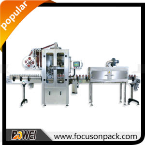 9000bottles Per Hour Shrink Sleeve Labeling Machine pictures & photos