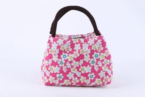 Promotional Factory Direct Sale Flower Printed Lunch Bag pictures & photos