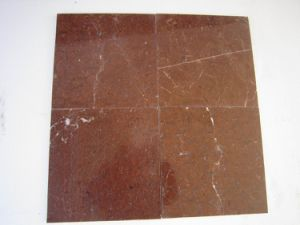 Red Marble Tile, China Rojo Alicante Marble Tile