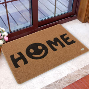 Anti Slip PVC Coil Loop Noodles Spaghetti Welcome Entrance Entry Foot Front Door Mats pictures & photos