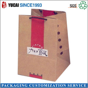 Customized Kraft Paperbag Handbag Food Bag pictures & photos