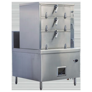 Gentil Fish Steam Cabinet For Hotel Kitchen Equipment