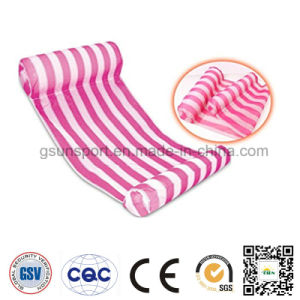 Swimming Pool Float Hammock Fabric Covered Inflatable for Park
