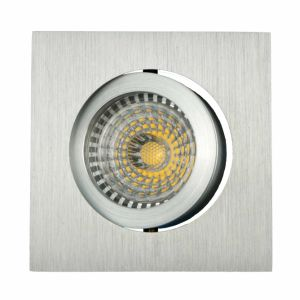 Lathe Aluminum GU10 MR16 Square Tilt Recessed LED Spot Down Light (LT2201) pictures & photos