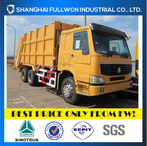 Sinotruk 6X4 Rear Compactor Garbage Truck pictures & photos