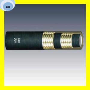 SAE 100 R16 Wire Braid Hydraulic Hose pictures & photos