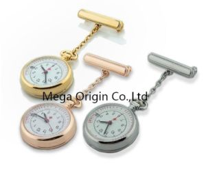 Best Nurses Fob Watch Stainless Steel Silver Gold Plated With Pulse Markings Date