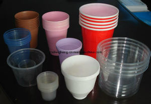 PS Automatic Plastic Cup Edge Curling Machine pictures & photos