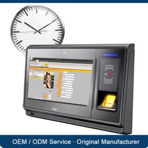 China 13 56MHz RFID Biometric Fingerprint Time Clock Punch Card