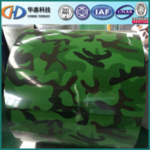 Camouflage Color PPGI with ISO 9001 pictures & photos