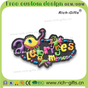 Free Customized Mexico Souvenir Collection Fridge Magnets Gifts (RC-MO)