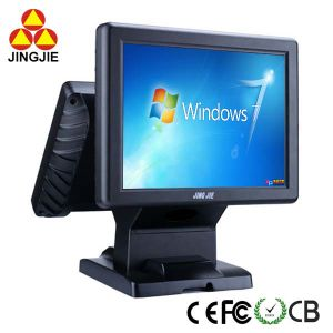 High Quality POS Terminal with 5 Wire Resistive Jj-8000b