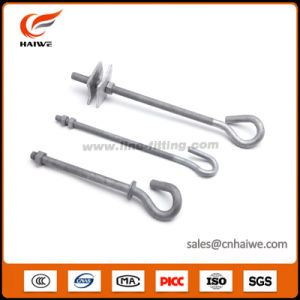 Pigtail Bolt Hooks for Pole Line Hardware pictures & photos
