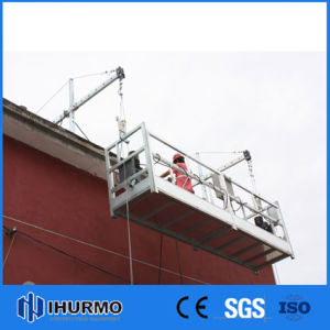 China manufacturer zlp800 800kg steel suspended platform for Swing stage motors sale
